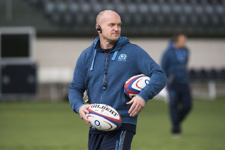 Scotland head coach Gregor Townsend is likely to name an initial squad of more than 40 players before whittling it down. Picture: SNS Group
