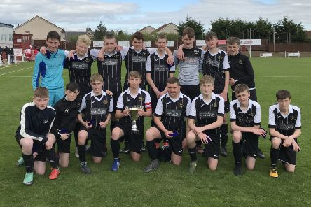 Gullane Under-15s enjoyed a comfortable win in the final of the Division 4 Cup final