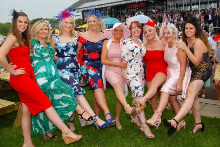 Musselburgh Ladies Day attracts thousands of people every year. Picture: TSPL