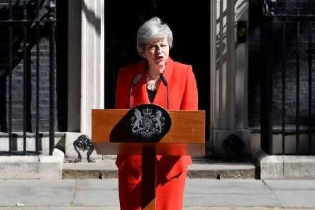 Prime Minister Theresa May announced her intention to resign