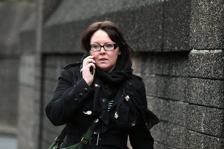 Former SNP MP Natalie McGarry has been jailed for 18 months. Picture: John Devlin