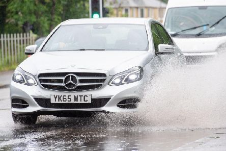 Flash flooding could hit parts of the Lothians today