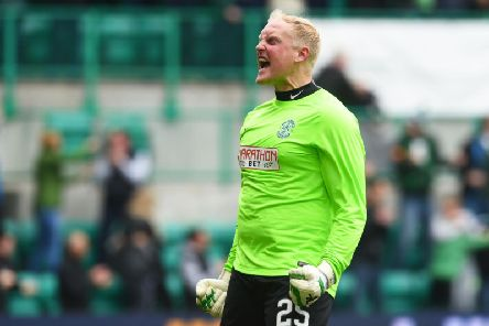 Conrad Logan turned out to be an inspired signing on Hibs' march to Scottish Cup victory in 2016. Picture: SNS