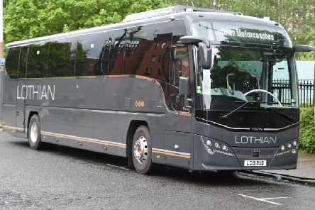 Lothian Buses splashed out on new registration numbers which took a dig at rivals.