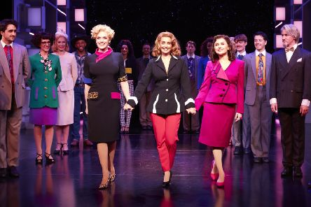 Louise Redknapp and Amber Davies in 9 To 5