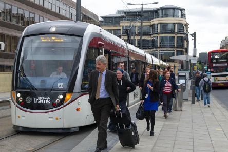 Passenger numbers and revenue on the trams are both up