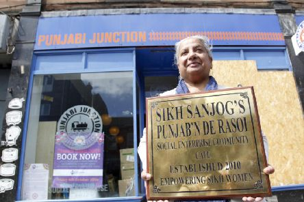 Founder Trishna Singh outside Punjabi Junction. PIC: Alistair Linford