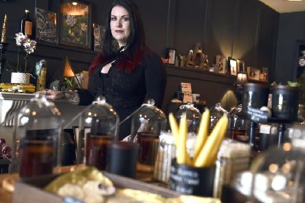 Brooke Mackay-Brock, 38, owner of Black Moon Botanica, talks to Caitlyn Dewar about bringing back a bit of magic to the citys Candlemaker Row