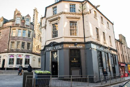 Strip clubs in Edinburgh could face a ban if new powers are introduced by the council (Photo: TSPL)