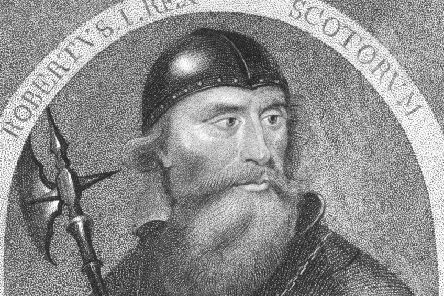 King of Scotland Robert Bruce (1274 - 1329). Picture: Getty