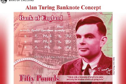 The new note. Picture: PA/Bank of England