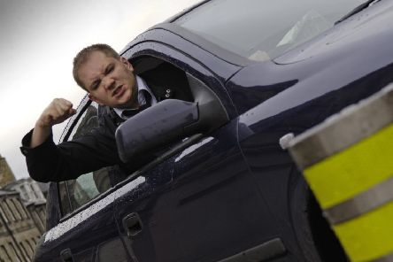 Vladimir McTavish has been experiencing a new level of road rage since deciding the drive according to the Highway Code (Picture: Rob McDougall)