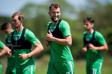 Christian Doidge is enjoying working with his new team-mates