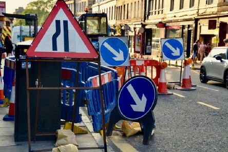 Don't let your plans this week get disrupted by roadworks