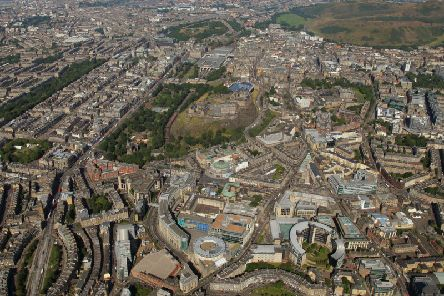 In the ten years to 2017, Edinburghs population has risen by 12.5 per cent. Picture: Contributed