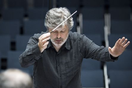 Sir James MacMillan's Fifth Symphony was premiered at the Festival on Saturday