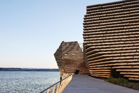 Dundee's V&A museum opened its doors last September.