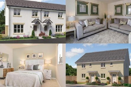 These new build homes in Edinburgh all feature brand new, modern fittings and are decorated to the highest standard