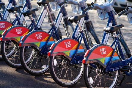 The Just Eat Cycles scheme will soon celebrate their first year anniversary