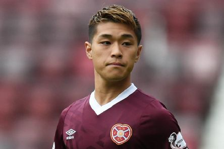 Ryotaro Meshino impressed when he came on for Hearts against Motherwell. Pic: SNS