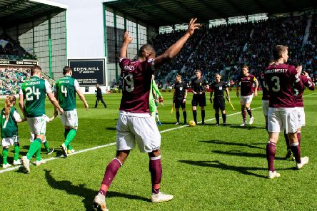 Hearts travel to Easter Road to face rivals Hibs this weekend. Picture: SNS