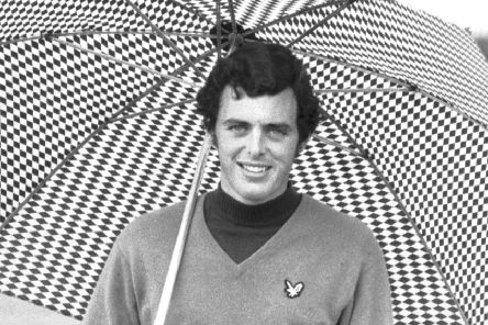 Bernard Gallacher at the Pro-Am Skil championship at Haggs Castle in October 1970