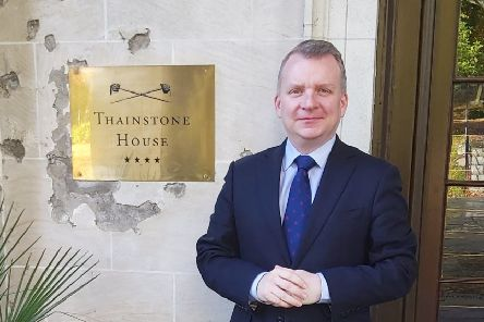 Thainstone House's new general manager William Inglis