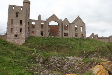 Slains Castle is believed to have been the inspiration for Castle Dracula
