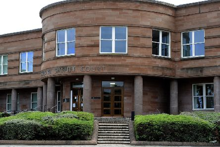 Bainsford man acted in racially aggravated manner towards woman at Forth Valley Royal Hospital