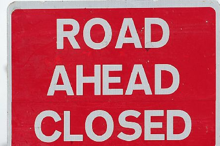 Road closures continue for Falkirk motorists as M876 work carries on into next week