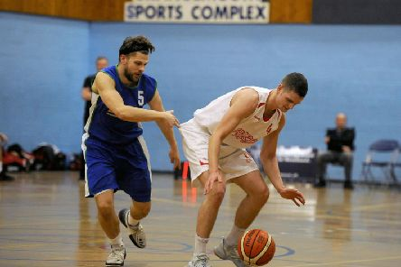 Fury in action against the Blaze at the Grangemouth Sports Complex (Pic: Michael Gillen)
