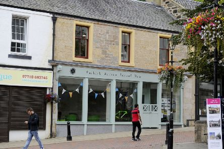 Falkirk Active Travel Hub is in the town's high street.