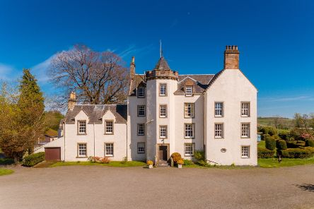 Auchenbowie House is on the market with Savills.