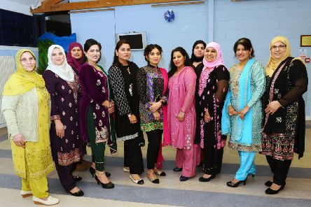 Breaking down barriers...and being part of the wider community is the aim of the Rainbow Muslim Women's Group which is open to all women to attend. (Pic: Michael Gillen)