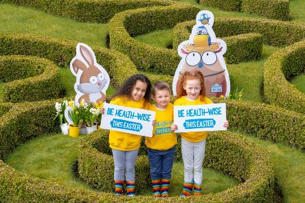 Stay healthy this Easter – a reminder from NHS Forth Valley