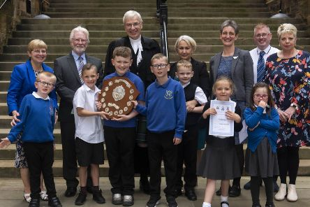 Cheers to Bo'ness caring project with Deanburn pupils