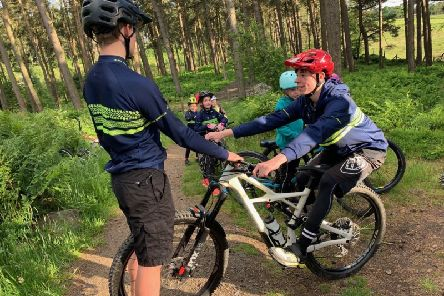 Falkirk junior bike club