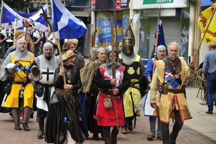 Falkirk commemorates a deadly day of medieval carnage