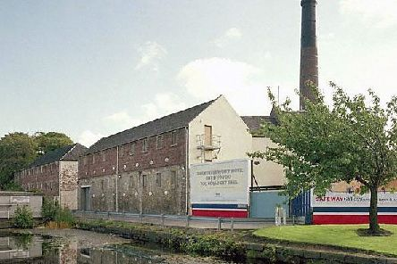 Rosebank Distillery, whose now derelict site is being brought back to li