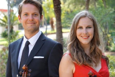 Danny and Alison Miller aka The Miller Violin Duo will be performing at FTH for Classic Music Live Falkirk