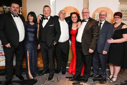 Best Growth Business winner, LOC Hire at last year's awards.