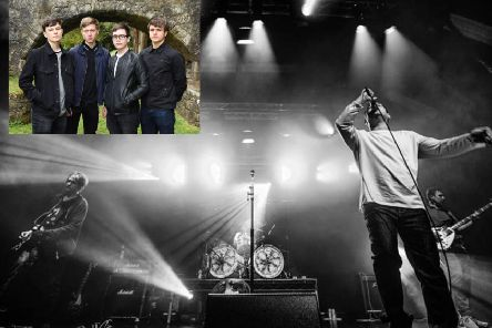 The Complete Stone Roses and The Patryns will be playing at the Dobbie Hall on Saturday