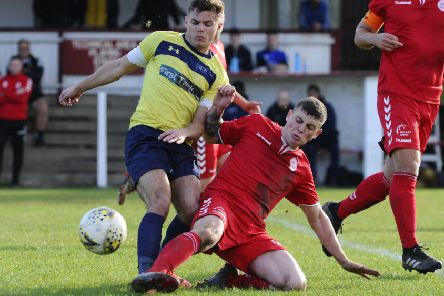 Camelon in action against Heriot Watt University (picture: Alan Murray)