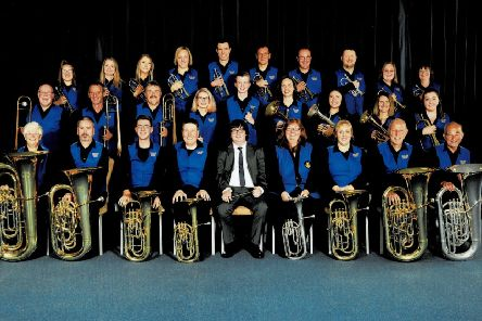 Newland Concert Brass Band will be playing to raise cash for the Falkirk branch of Parkinson's UK