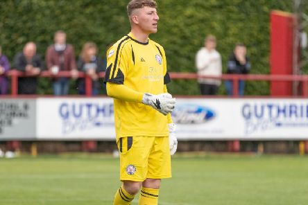 Lewis McMinn, Brechin City (picture Dave Crowe)