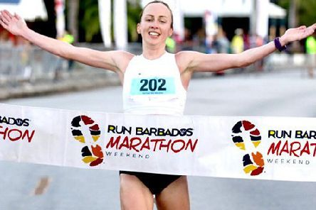 Sarah Inglis continues her fine season with victory in Barbados   picture:  Inge Johnson