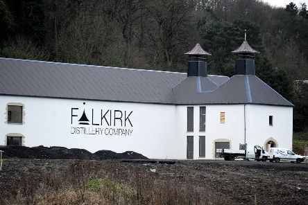 Falkirk Distillery is due to open later this year.  Pic: Michael Gillen.