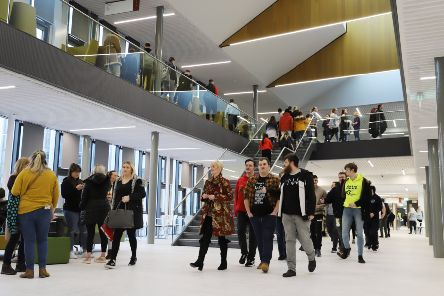 Forth Valley College welcomes students to new Falkirk campus