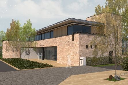 The new St Andrews Links Trust headquarters, adjacent to the Eden clubhouse.
