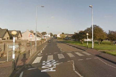 The crossing at Methilhaven Road. Pic: Google.